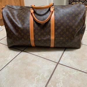 Louis Vuitton Keepall Boston Bag 60
